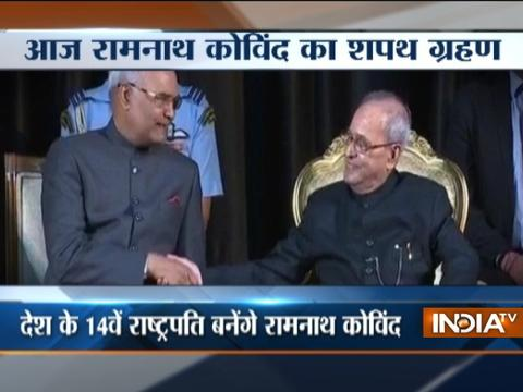 Ram Nath Kovind to take oath as 14th President of India today