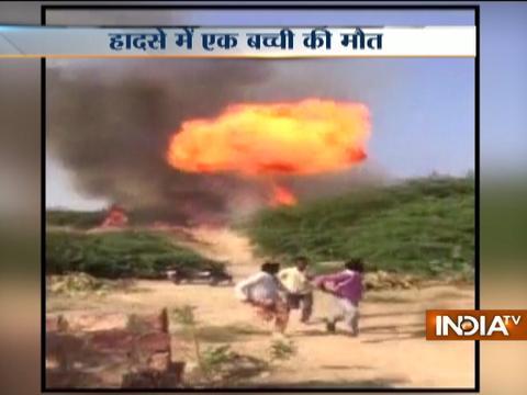 Rajasthan: Massive fire breaks out in slums in Jodhpur