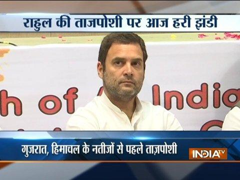 Rahul Gandhi's elevation as Congress president on the cards as CWC meets today