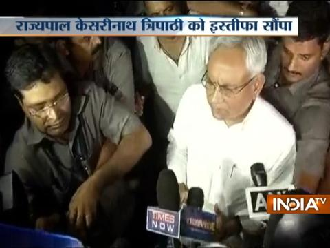 Nitish Kumar resigns as Bihar CM: 'Followed by conscience, had no choice but to quit'