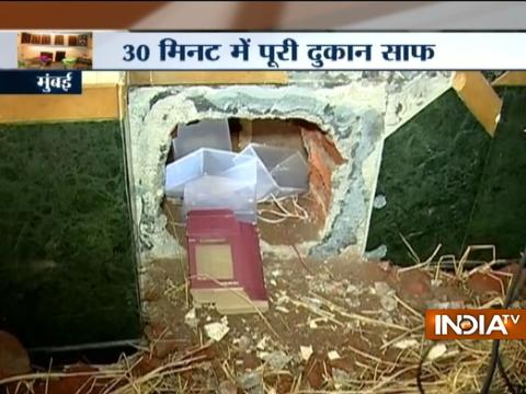 Mango sellers drill hole in wall, rob jewellery store in Mumbai