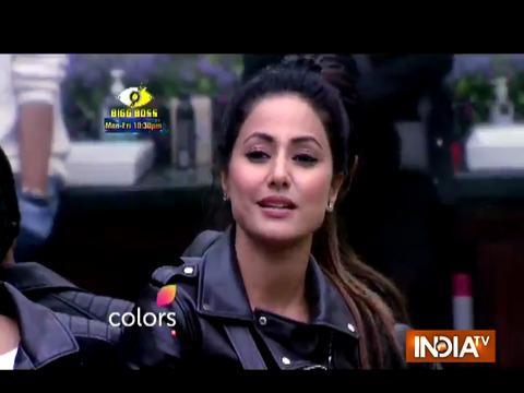 Bigg Boss 11: Hina gets angry on Shilpa Shinde