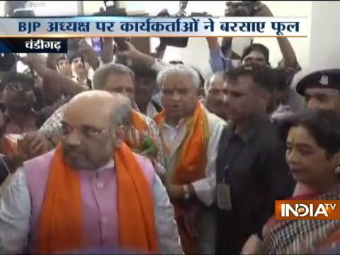 BJP president inaugurates Nanaji Deshmukh library in Chandigarh