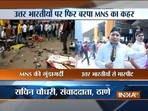 Maharashtra: MNS goons vandalize North Indians shops in Thane