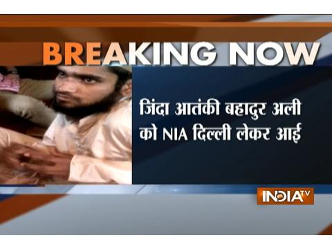 Terrorist who was caught alive during Kupwara encounter brought to Delhi