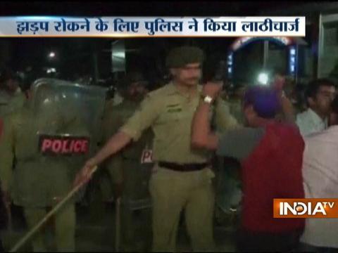Tripura: BJP, TMC workers clash in Agartala