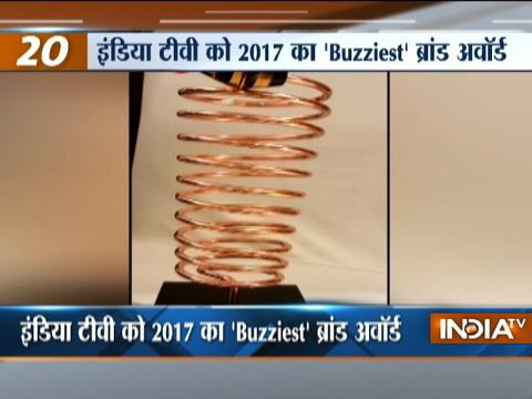 India TV awarded 'Buzziest Brand of the Year' in news category