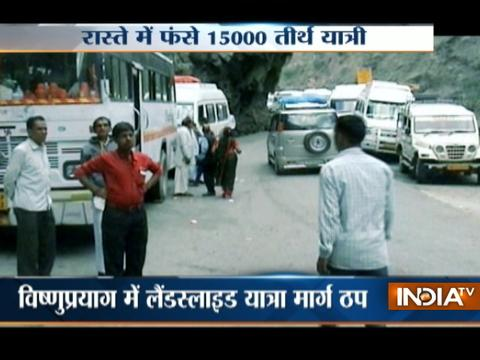 Uttarakhand: Many stranded on way to Badrinath as landslide hits Char Dham route