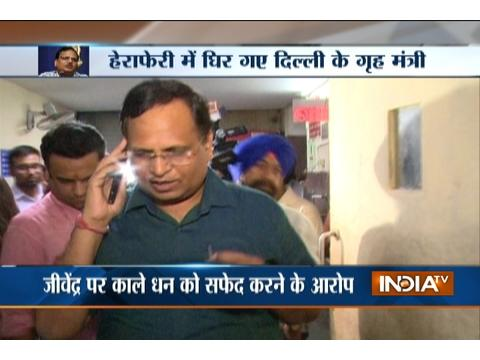 AAP minister Satyendra Jain under Income Tax Department scanner over tax evasion