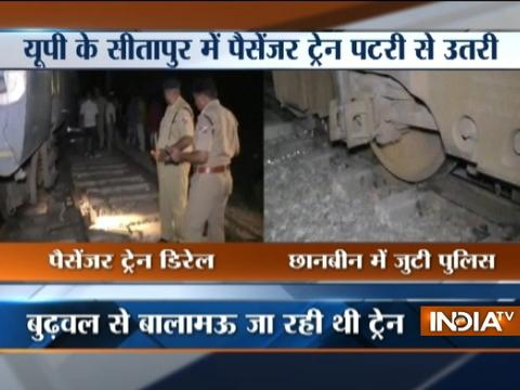 UP: Passenger train's engine derails in Sitapur, no casualty reported