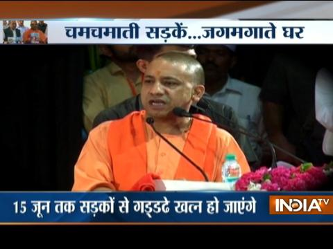 Yogi Adityanath draws UP roadmap during the National Panchayat Raj Day event at Lucknow