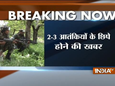 J-K: Encounter underway between security forces and militants in Hakripora