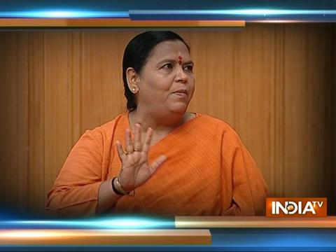 There is no propaganda in building Ram Mandir: Uma Bharti in Aap Ki Adalat, Saturday 10 PM on India TV