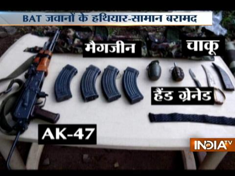 Arms and ammunitions recovered from Pakistani BAT Jawan killed in Poonch's encounter