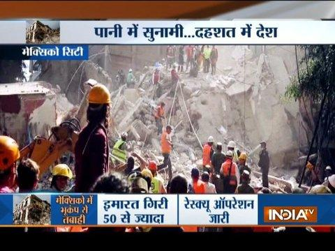 Powerful Earthquake Devastates Mexico, More Than 150 Dead