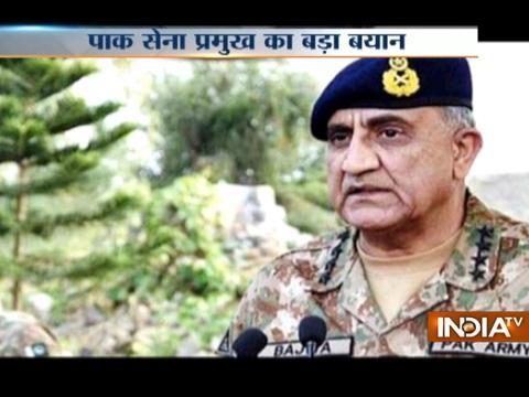 Army Chief Gen Qamar Bajwa says Pakistan wants peaceful relations with India