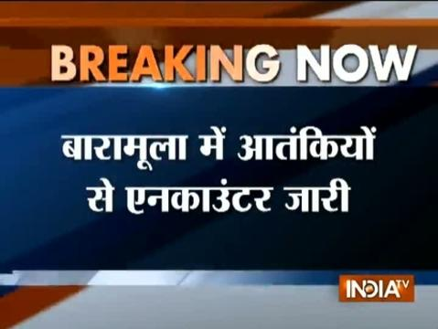 Jammu and Kashmir: Encounter underway between security forces and terrorists in Uri
