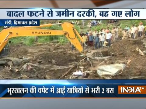 At least 46 dead in Himachal landslide, rescue operation underway