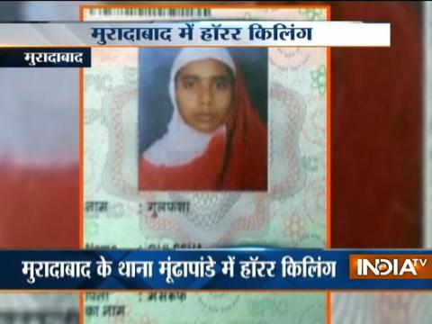 Woman burn to death in Moradabad