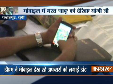 Govt officials caught chatting on social media ignoring public during working hours