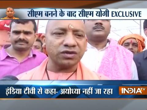 I am not going to Ayodhya as of now, says CM Yogi Adityanath