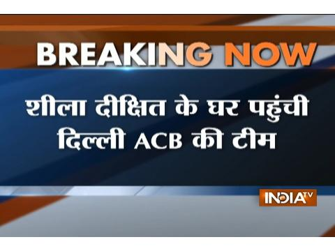 Water Tanker Scam: Delhi ACB arrives at Sheila Dixit residence