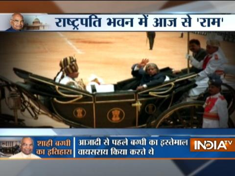 After Independence, India won President's Buggy from Pakistan in a toss