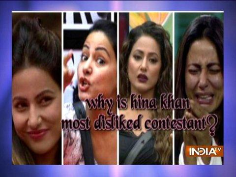 5 reasons why Hina Khan is most disliked contestant of Bigg Boss 11