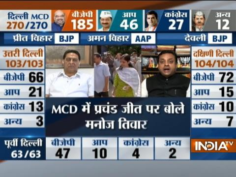 Sambit Patra takes on Kejriwal after winning MCD elections