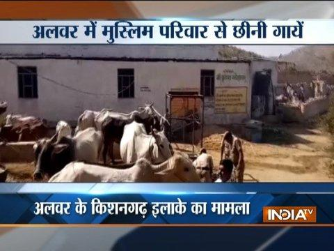 Rajasthan: 51 cows of Muslim family snatched in Alwar