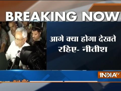 Nitish Kumar quits, PM Narendra Modi congratulates him for 'joining the fight against corruption'
