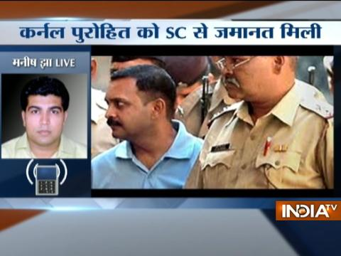 SC grants bail to 2008 Malegaon blast accused Lt. Colonel Purohit