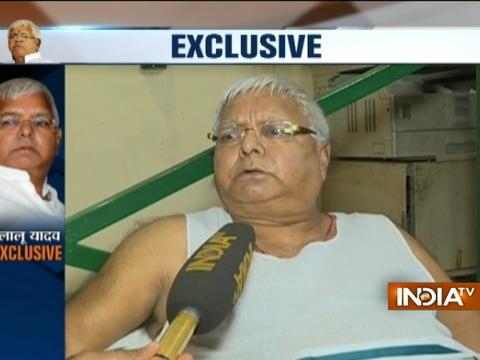 Nitish's returning to NDA fold was a 'well-scripted drama' says Lalu Prasad Yadav