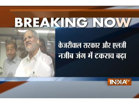 LG Najeeb Jung appoints three-member committee to examine files submitted by