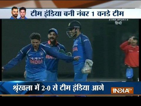22-year-old Kuldeep Yadav becomes first Indian spinner to take hat-trick in ODIs
