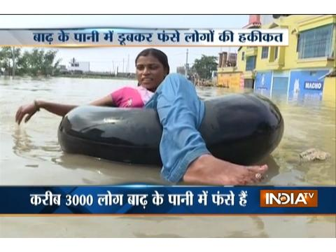 Normal life thrown out of gear in Bhagalpur's Naytola area due to flood