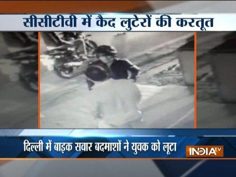 Youth looted at gun-point by bikers in Delhi