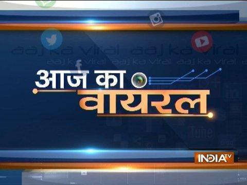 Aaj Ka Viral: Police finds Ram Rahim's locket like pen-drive