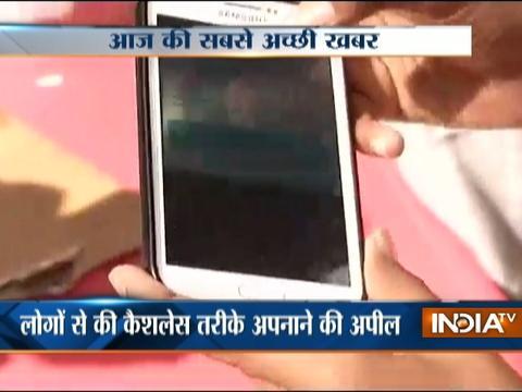 School kids spread awareness about digital payment in Hyderabad
