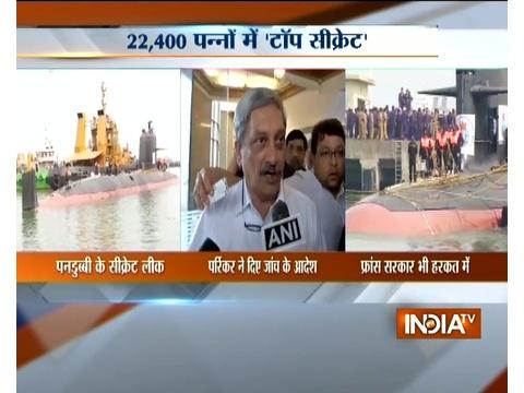 Manohar Parrikar orders for probe over Navy's Scorpene-class submarines leak
