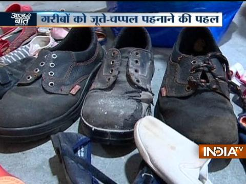 Good News: This company recycles old footwears and create new pairs for needy