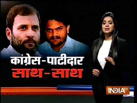 Hardik Patel to announce agreement with Congress on reservation for Patidars on Monday