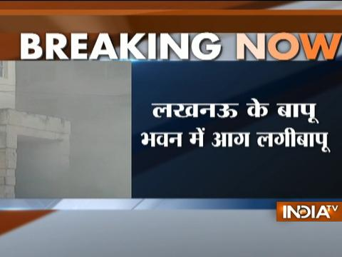Fire breaks out at Bapu Bhawan Secretariat in Lucknow, situation under control