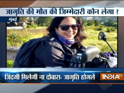 Open manhole and potholes leads to death of businessman in Delhi and lady biker in Mumbai