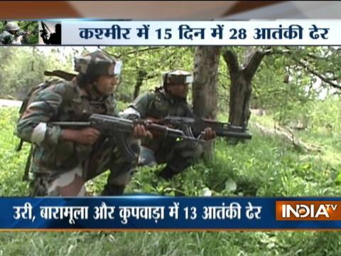 12 militants killed as Army foils 3 infiltration bids Jammu & Kashmir