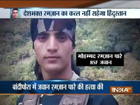 After Pak gets humiliated in UN, militants kill BSF jawan in Bandipora
