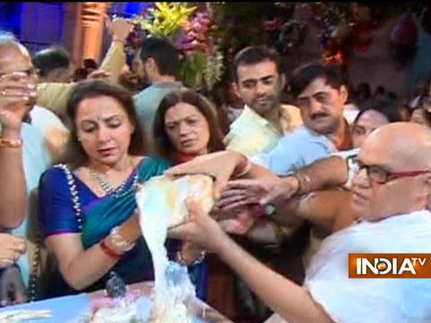 Hema Malini, Ronit Roy and other celebs celebrate Krishna Janmashtami