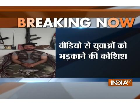 Hizbul Mujahideen terrorist Zakir Musa releases latest video After Burhan Wani's death
