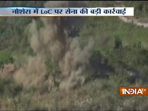 Indian Army destroys Pak military posts in 'punitive' fire assaults