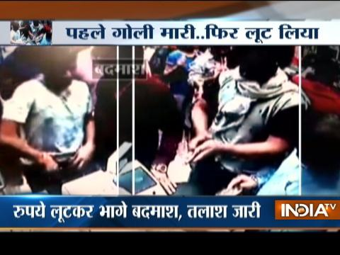 Robbers open fire in ice cream parlour in east Delhi, loot moneyin Preet Vihar